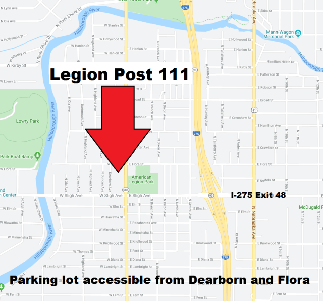 Legion Parking